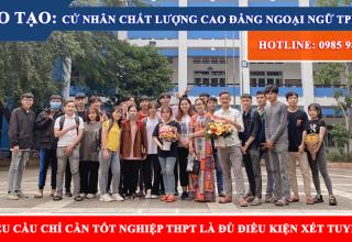 Cao đẳng ngoại ngữ tphcm